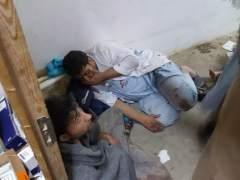 Bombardeo de EE UU a un hospital en Afganist�n