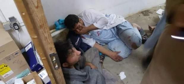 Bombardeo de EE UU a un hospital en Afganistán