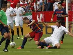 El Sevilla inflige al Bar�a su segunda derrota seguida fuera