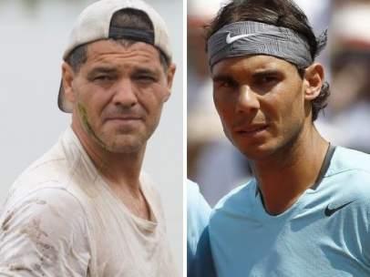 Frank Cuesta y Rafa Nadal
