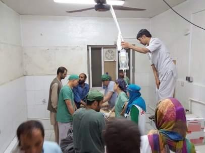 Hospital de MSF en Kunduz