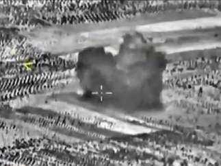 Ataque ruso en Siria