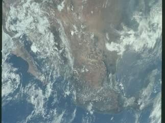 M�xico, desde el espacio