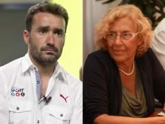Juanma Casta�o la l�a en Twitter al criticar a Manuela Carmena por su entrevista en 'Marca'