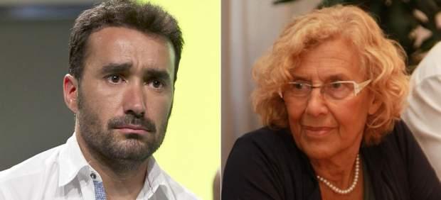 Juanma Castaño la lía en Twitter al criticar a Manuela Carmena por su entrevista en 'Marca'