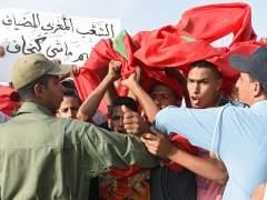 Manifestaci�n en Rabat contra Suecia