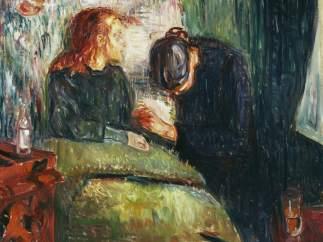 'La ni�a enferma', 1907