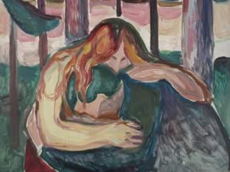 'Mujer vampiro en el bosque', 1916-1918