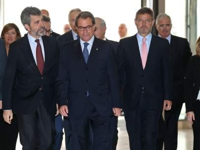 Artur Mas en la 58 reuni�n anual de la Uni�n Internacional de Magistrados.