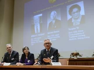 Rueda de prensa Premio Nobel Medicina 2015