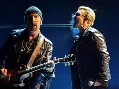U2 despliega todo su poder ante un p�blico entregado en el Palau Sant Jordi