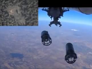Ataque aéreo ruso en Siria
