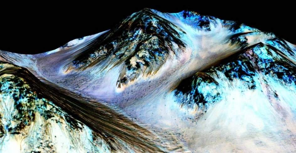 Agua en Marte glaciares en Plutn otra Tierra Diez recientes