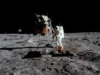 Módulo solar del Apolo 11