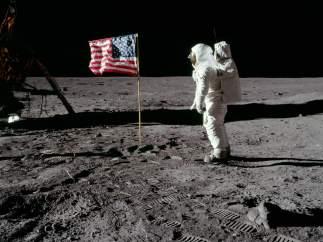 La famosa foto de la bandera