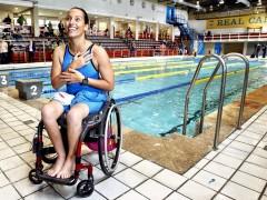 """Teresa Perales: """"Me llegaron a decir 'ded�cate a otra cosa, la piscina no es lo tuyo'"""""""