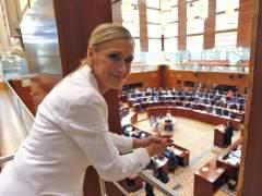 """Cristina Cifuentes: """"Nuestra marca lleva a sus espaldas la sombra de la corrupci�n"""""""