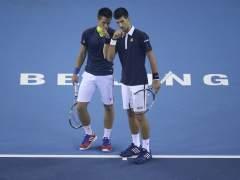 Los hermanos Djokovic.