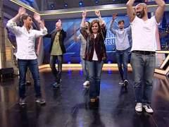 Soraya S�enz de Santamar�a se atreve a bailar en 'El Hormiguero'