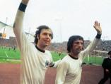Franz Beckenbauer y Gerd Muller