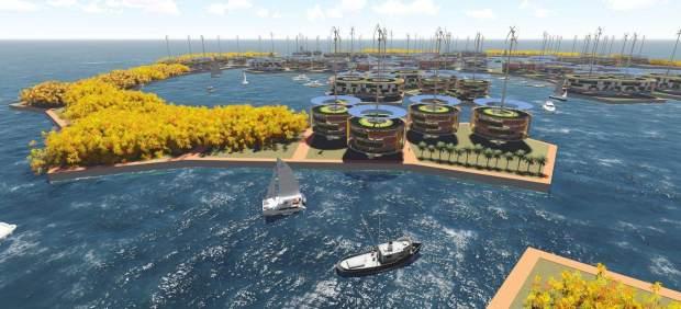 Una isla-ciudad independiente de cualquier Estado: anuncian su construcción para 2020