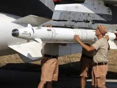 Cazas rusos vuelan en formaci�n de ataque cerca de drones estadounidenses en Siria