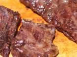 Cortar la carne argentina