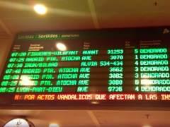Girona-Barcelona: m�s de cuatro horas para un trayecto de 40 minutos
