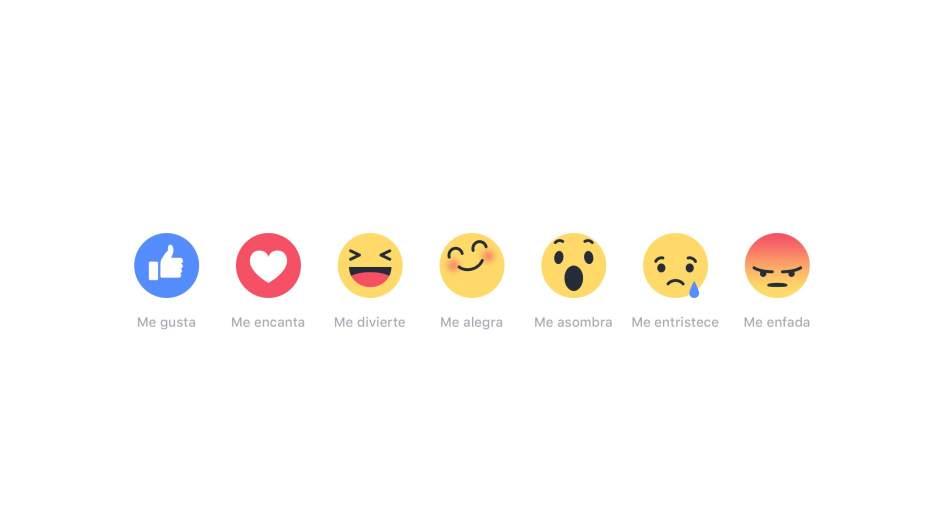 Facebook lanza al fin alternativas al botón 'Me gusta': no ...