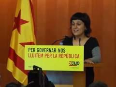 """La CUP conf�a el futuro de una Catalunya independiente """"a un contenido y no a una persona"""""""