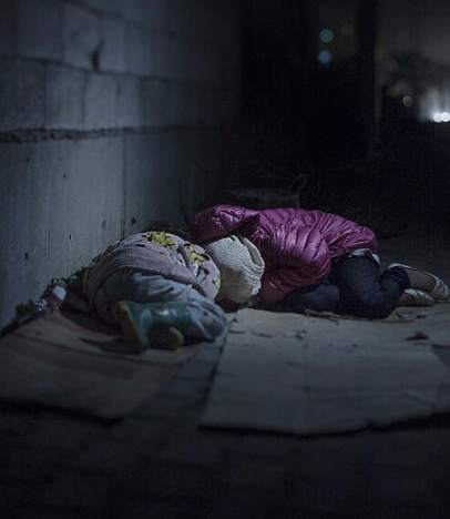 Refugiados ni�os sirios