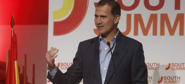 El rey clausura el 'South Summit 2015'
