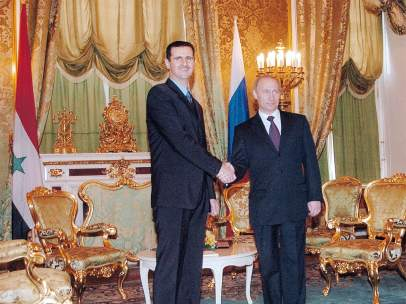 Putin y Al Asad