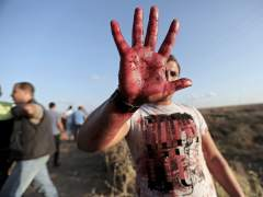 Los ataques contin�an en Israel y los disturbios llegan a Gaza