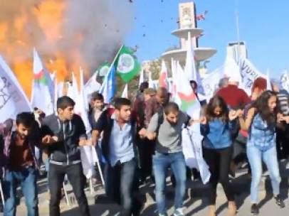 Explosi�n en Ankara