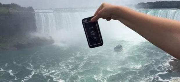 'Extreme Phone Pinching': la nueva moda en Internet es sostener el móvil sobre el vacío