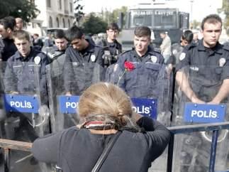 Recuerdo a las víctimas de Ankara