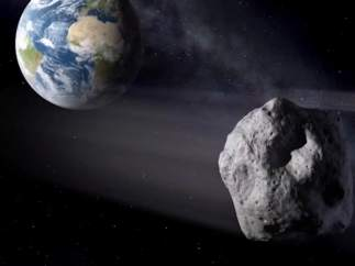 Asteroide próximo a la Tierra