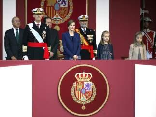 Los Reyes presiden la Fiesta Nacional
