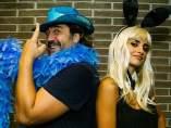 Javier Bardem y Penélope Cruz acuden al concierto de U2 en Barcelona