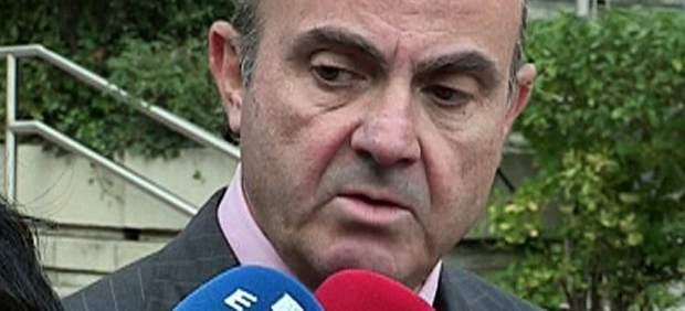 Luis de Guindos asumirá las funciones del Ministerio de Industria tras la renuncia de Soria