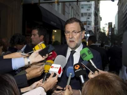 Rajoy, en Nueva York