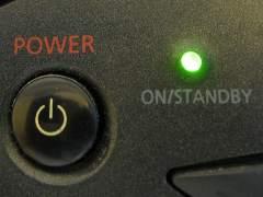 Electrodom�stico en 'standby' (en reposo)