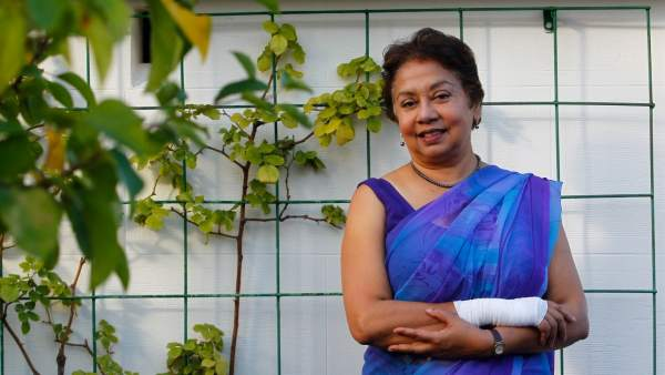 Debarati Guha Sapir, directora del Centro de Investigación sobre la Epidemiología de los Desastres