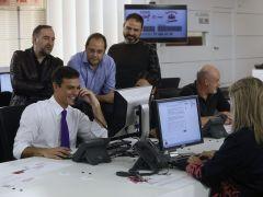 """S�nchez exige explicaciones a Rajoy sobre el """"embuste"""" de los presupuestos"""