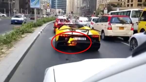 Cuidado si vacilas demasiado con un Lamborghini
