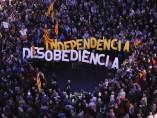 Manifestación 'Ara és l'hora'