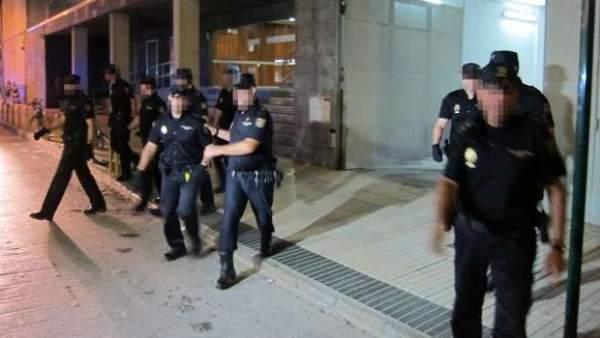 Policías nacionales acusados de homicidio en Cala Cortina (Cartagena)