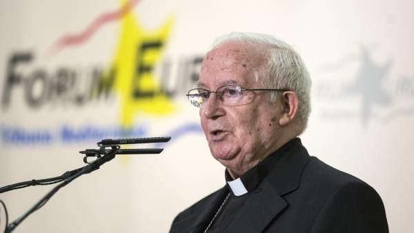 Desayuno informativo del cardenal Antonio Cañizares