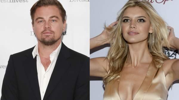 Leonardo DiCaprio y Kelly Rohrbach